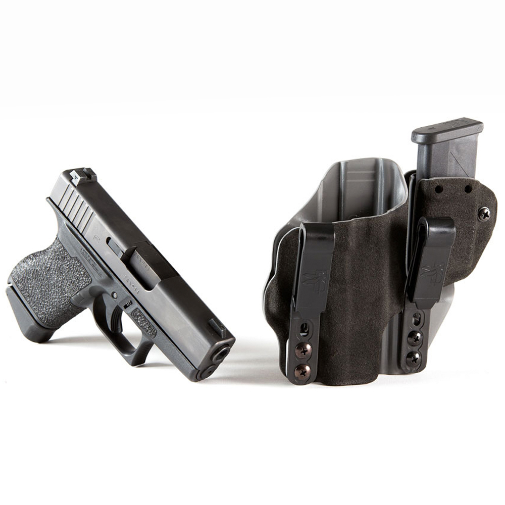 Incog IWB Holster with Mag Caddy Glock 43